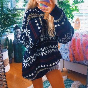 Sweaters - chunky lithuanian boho sweater